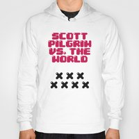 scott pilgrim Hoodies featuring Scott Pilgrim vs. The World by Martin Lucas