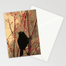 Grackle  Stationery Cards