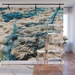 Fishing Nets Sand Beach Seaside Wall Mural