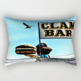 Coney Island Clam Bar Rectangular Pillow