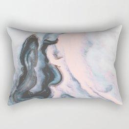Modern marble 01 Rectangular Pillow