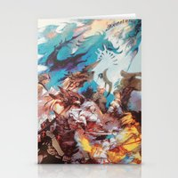 final fantasy Stationery Cards featuring Final Fantasy by Tamika