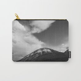 Landscape Minimalist Photography Waterton | Black and White | black-and-white | bw Carry-All Pouch