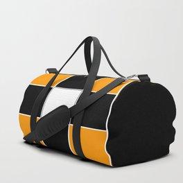 Team Color 3 ...black and Orange Duffle Bag