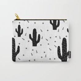 Cactuses abstract modern print simple Carry-All Pouch