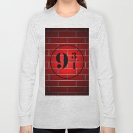 peron brick wall Long Sleeve T-shirt