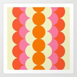 Gradual Sixties Art Print