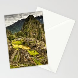 Machu Picchu Hi-Res HDR landscape Peru Stationery Cards