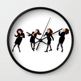 The Little Kicks Wall Clock
