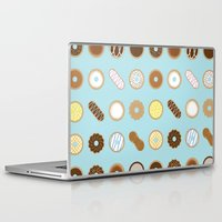 donuts Laptop & iPad Skins featuring Donuts by Dorothy Leigh