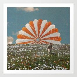 Parachute Art Print