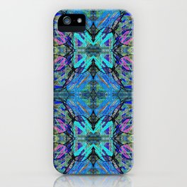 Soft Blue Butterfly iPhone Case
