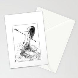 asc 156 - La flèche noire Stationery Cards