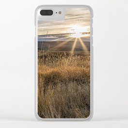 Late Afternoon on Malheur Clear iPhone Case