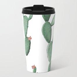 Flowering Cacti Travel Mug