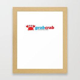 Grabcrab (formerly operating as Crabgrab) Framed Art Print