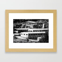 Industrial Spain Framed Art Print