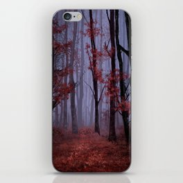 red forest 2 iPhone Skin