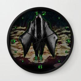 """""""BOO! the ghoul"""" Darrell Merrill Wall Clock"""