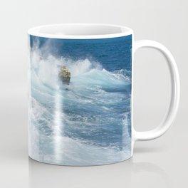 St Lucia ocean waves Coffee Mug