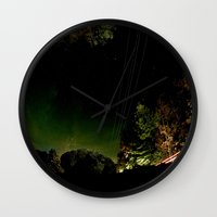 vermont Wall Clocks featuring Vermont by LukeyD