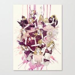 The Monster Ball Canvas Print