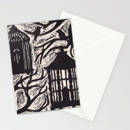 Cages Stationery Cards