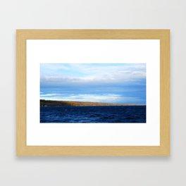 Lake Cayuga Framed Art Print