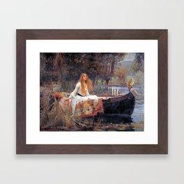Lady Guinevere Framed Art Print
