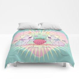 cute mice Comforters