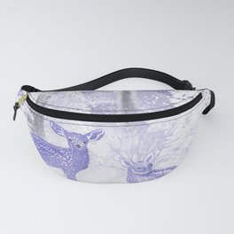 Winter Fawns Fanny Pack