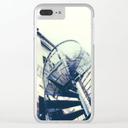 Fire Escape Clear iPhone Case