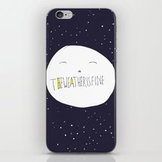 bright side of the moon  iPhone & iPod Skin