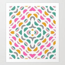 Bright modern little decor Art Print