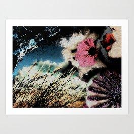 Mosaic Composition Art Print