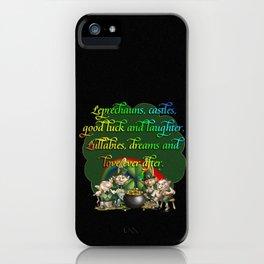 Leprecaun Party iPhone Case
