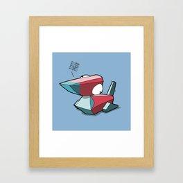 Pokémon - Number 137 Framed Art Print