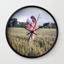 Big Girls Cry Wall Clock
