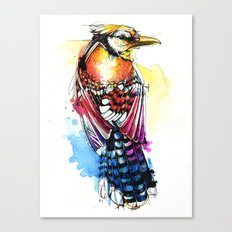 Crazy Jay Canvas Print