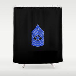 Sergeant Major (Police) Shower Curtain