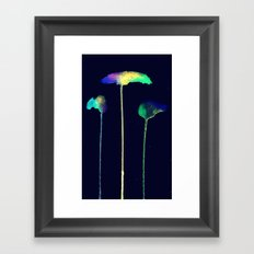 Raining Colour Framed Art Print