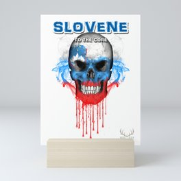 To The Core Collection: Slovenia Mini Art Print