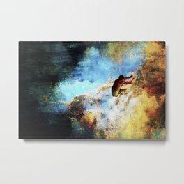 Nebulae Wave Metal Print