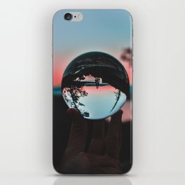 The Crystal Sunset (Color) iPhone Skin