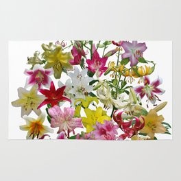 Lots of lilies to love! Rug