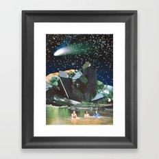 Long Nights Framed Art Print