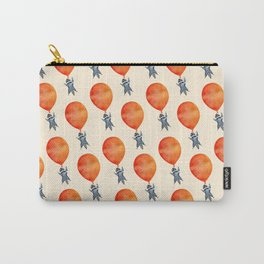 Raccoon and Balloon Carry-All Pouch