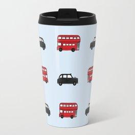 London Buses and Taxis Travel Mug