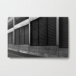 Barriers Metal Print
