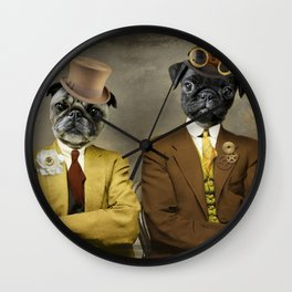 Steampug Wall Clock